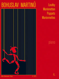 Martinu : Marionetten (Marionnettes): Short Pieces for Piano - Book 1
