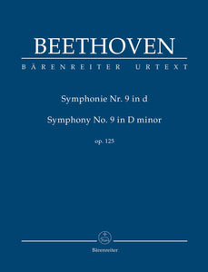 Beethoven: Symphony No 9 in D Minor Op 125 - Study Score