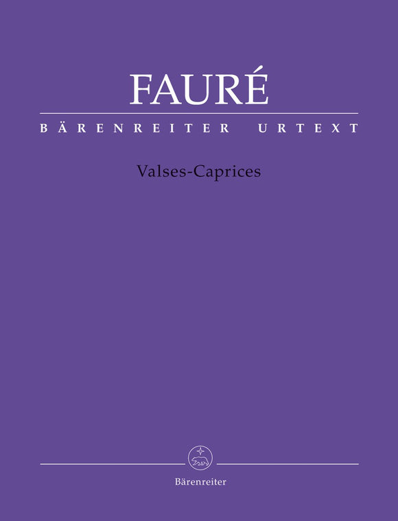 Fauré: Valses-Caprices for Piano Solo