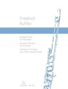 Kuhlau: Kuhlau Fantasy in D for Flute