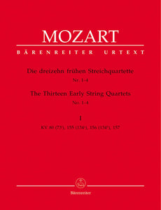 Mozart: Thirteen Early String Quartets - Volume  1: Nos 1-4