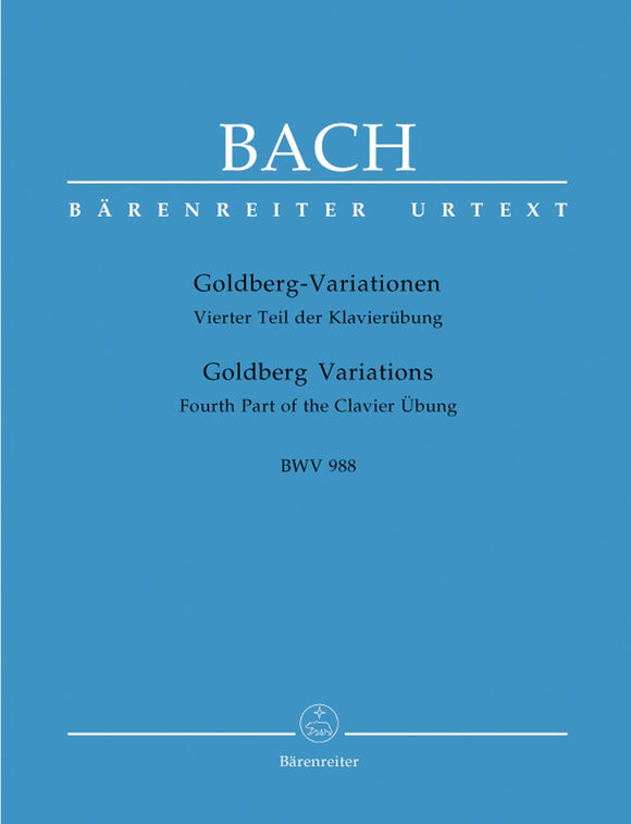 Bach: Goldberg Variations for Piano Solo