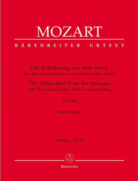 Mozart: Overture to the Abduction from the Seraglio - Full Score