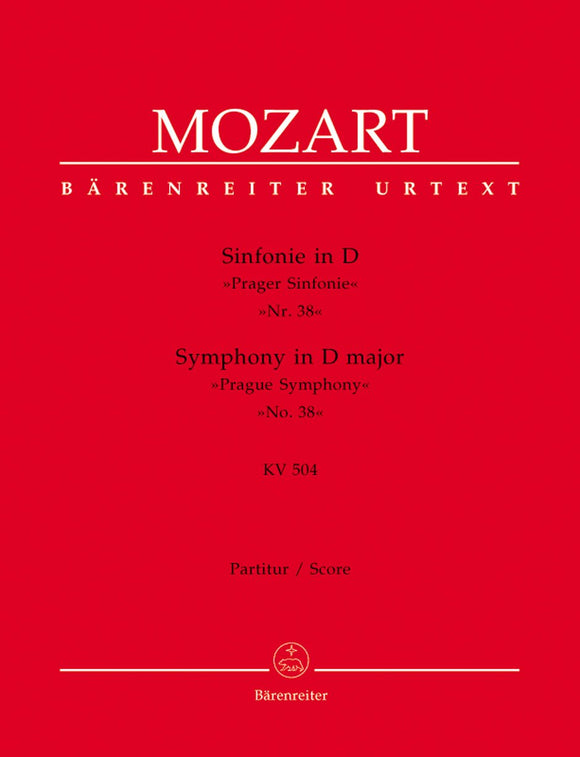 Mozart: Symphony No 38 K504 Prague Full Score