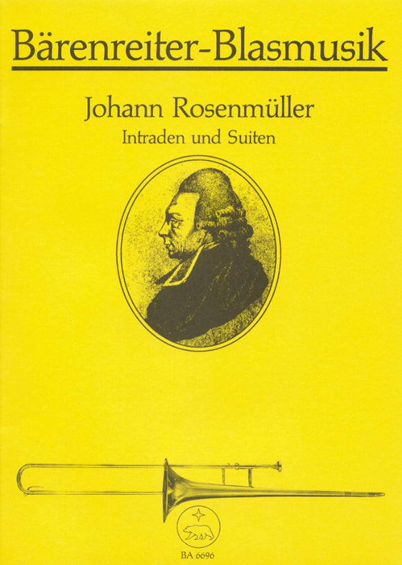 Rosenmuller: Intradas & Suites for Brass Quintet (Playing Score)