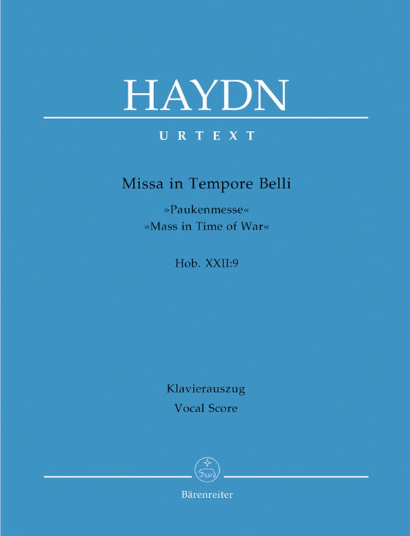 Haydn: Timpani Mass - Vocal Score