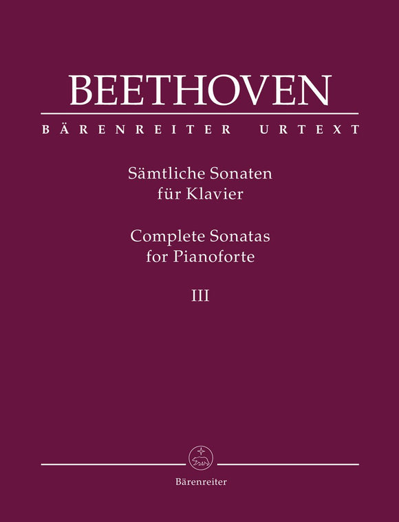 Beethoven: Complete Sonatas for Piano - Volume III