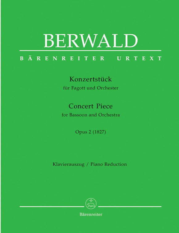 Berwald: Concert Piece for Bassoon & Piano