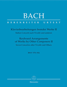 Bach: Keyboard Arrangements Other Composers - Book 2