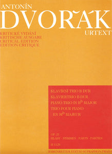 Dvořák: Piano Trio in B Flat Op 21 Parts