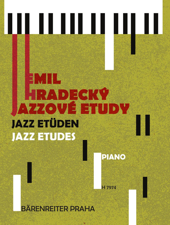 Hradecky: Jazz Etudes for Young Pianists