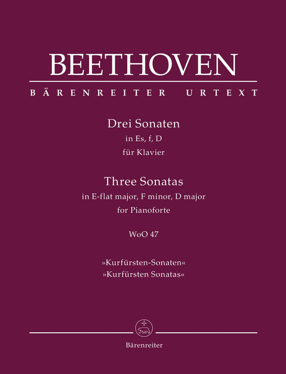 Beethoven: Three Piano Sonatas WOO 47