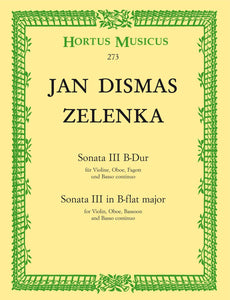Zelenka: Trio Sonata No 3 in B Flat for 2 Oboes & Bassoon