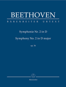 Beethoven: Symphony No 2 in D - Study Score