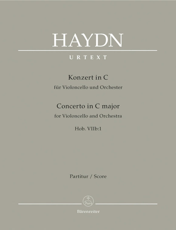 Haydn: Cello Concerto No 1 in C (Hob VIIB:1) - Full Score