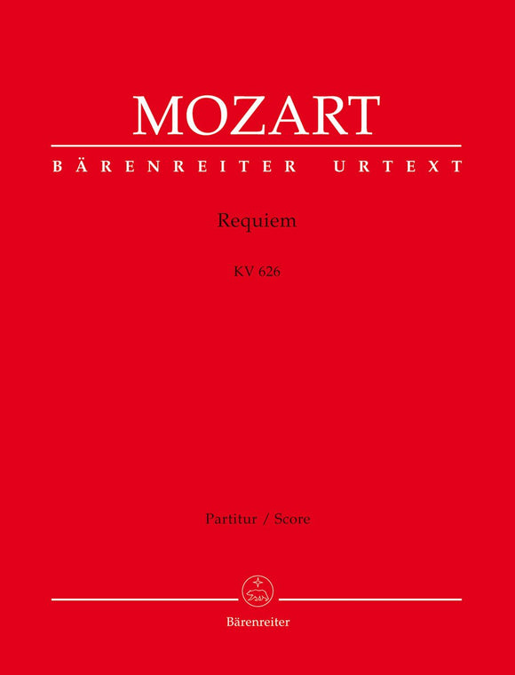 Mozart: Requiem in D K626 - Full Score