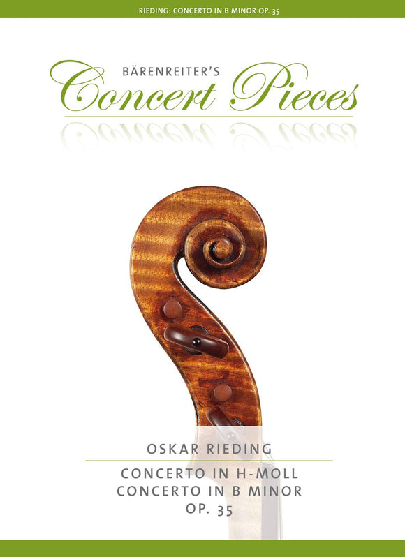 Rieding : Violin Concerto in B Minor Op 35 for Violin & Piano