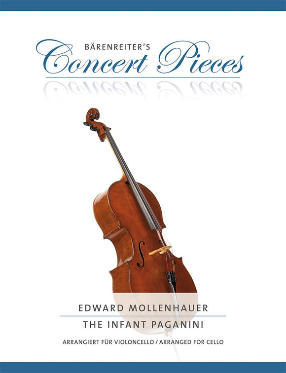 Mollenhauer : The Infant Paganini Fantasia for Cello & Piano