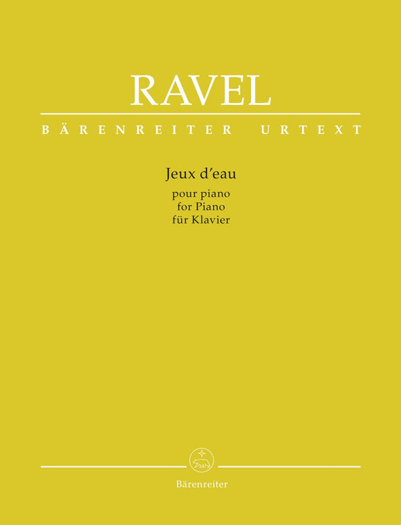 Ravel : Jeux d'Eau for Piano Solo