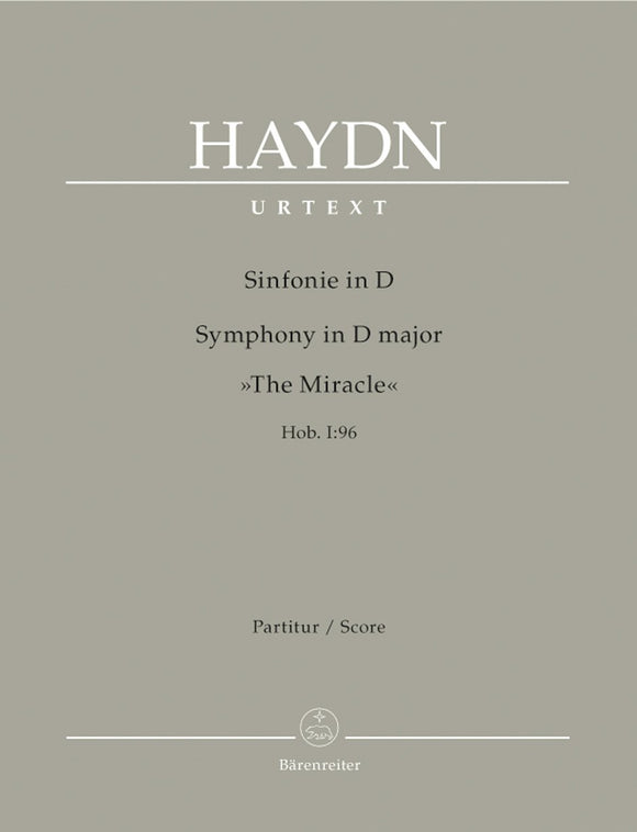 Haydn: Symphony No 96 in D Major Hob I:96 Full Score