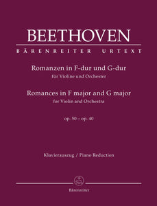 Beethoven: Romances Op 40 & 50 Violin & Piano