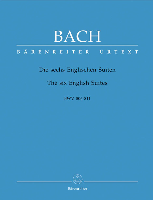 Bach: Six English Suites for Piano Solo