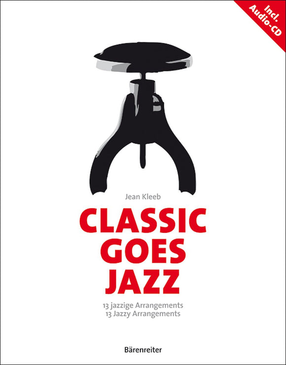 Classic Goes Jazz for Piano Book, CD