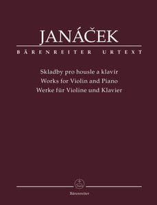 Janáček: Works for Violin & Piano