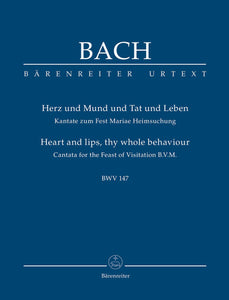 Bach: Cantata for the Feast of the Visitation - Study Score