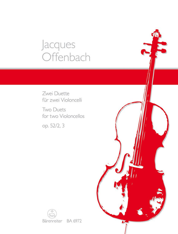 Offenbach: Two Duets for 2 Cellos - Op 52 No 2, 3