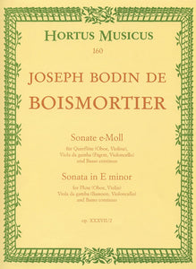 Boismortier: Sonata in E Minor Op 37 No 2 for Flute & Viola da Gamba