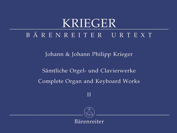 Krieger : Complete Organ & Keyboard Works - Book 2