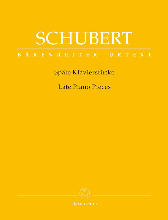 Schubert: Late Piano Pieces