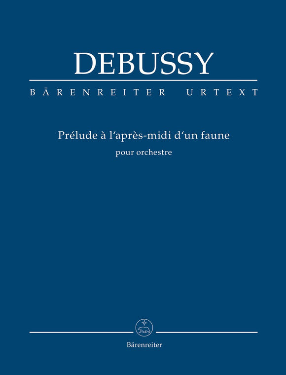 Debussy: Prelude to the Afternoon of A Faun - Study Score