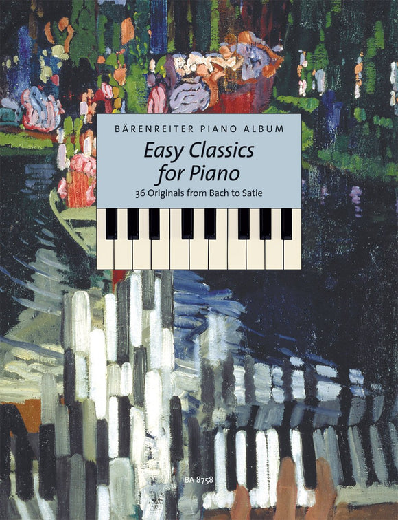 Topel : Easy Classics for Piano from Bach to Satie