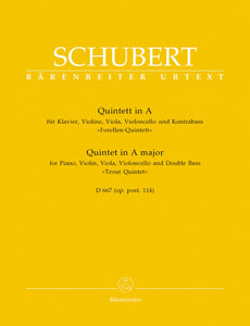 Schubert: Trout Quintet for Piano Quintet