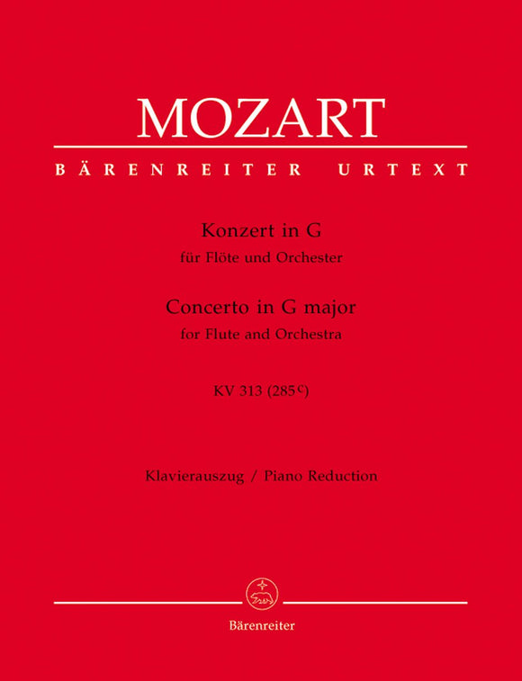 Mozart: Concerto in G K313 for Flute & Piano
