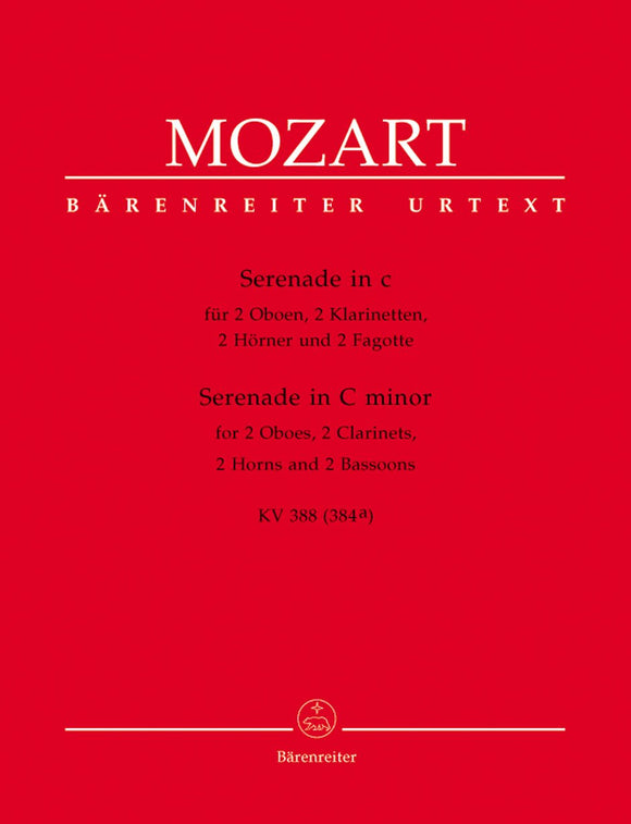 Mozart: Serenade in C K388 Wind Parts