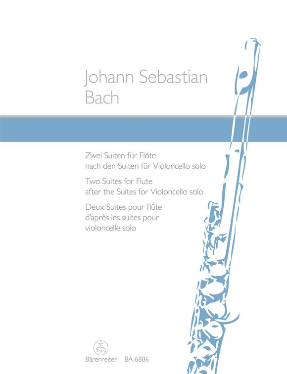 Bach: Two Suites for Flute - BWV 1007, 09