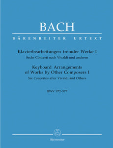 Bach: Keyboard Arrangements of Works by Other Composers