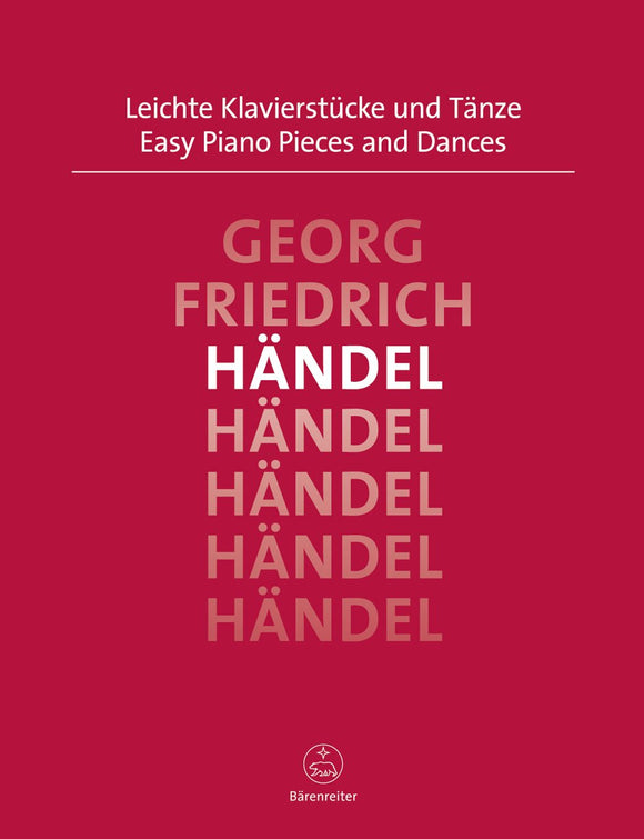Handel: Easy Piano Pieces & Dances for Solo Piano