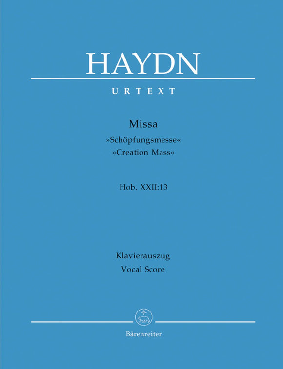 Haydn: Creation Mass - Vocal Score