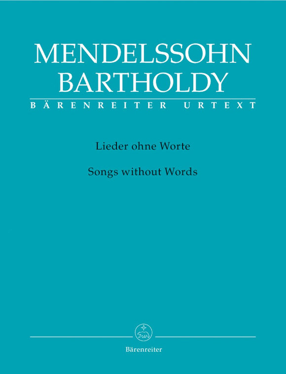 Mendelssohn: Songs Without Words for Piano Solo