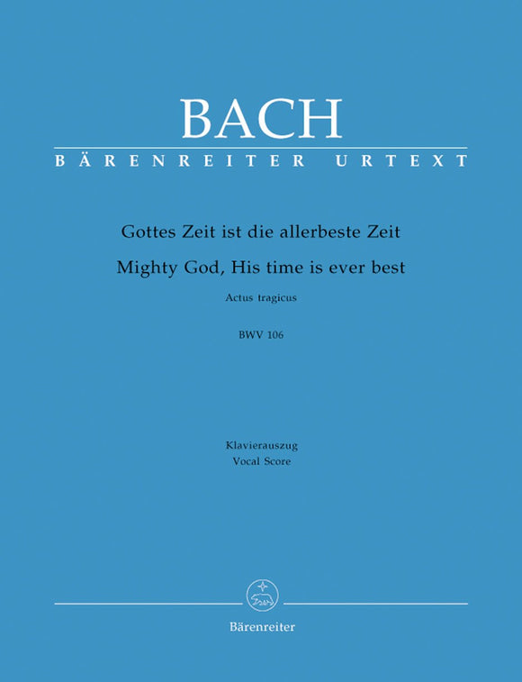Bach: Cantata 106 - Vocal Score
