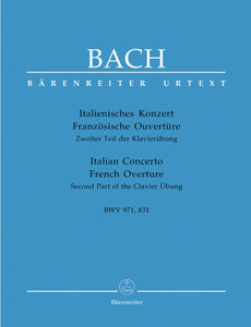 Bach: Italian Concerto & French Overture (BWV 971, BWV 831)