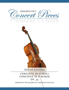 Rieding : Concerto Op35 B Minor for Cello & Piano