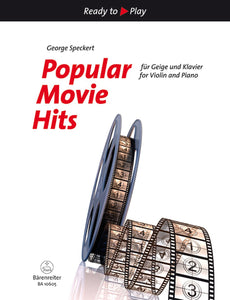 Popular Movie Hits for Violin & Piano