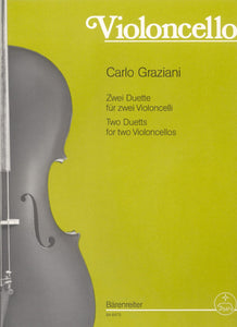 Graziani: Duets for 2 Cellos