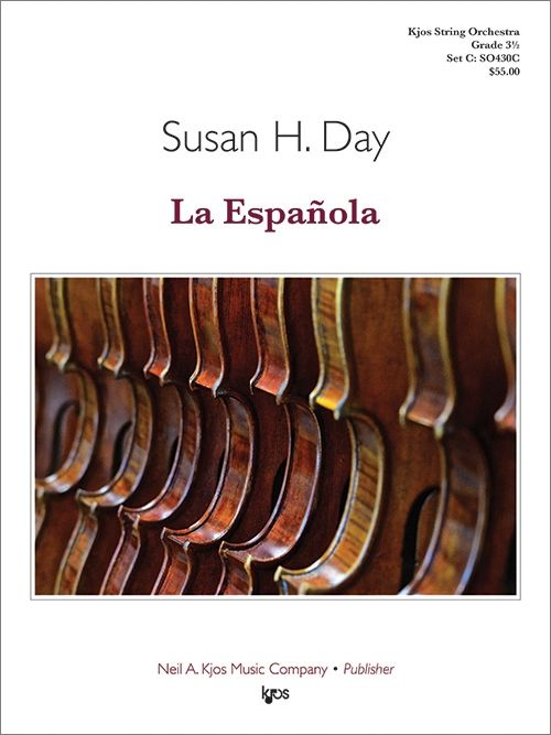 La Espanola (The Spanish Lady) - arr. Susan H. Day (Grade 3.5)