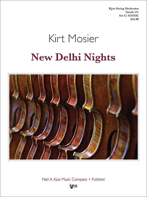 New Delhi Nights - arr. Kirt Mosier (Grade 3.5)